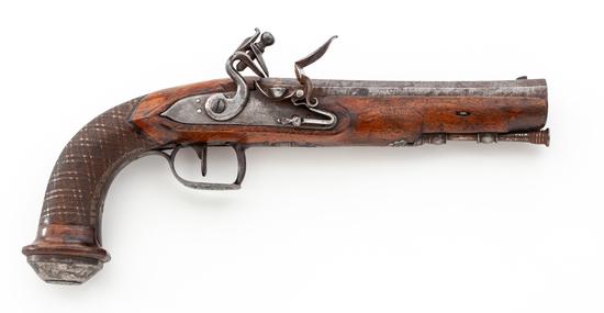 Continental Officer's Flintlock Pistol