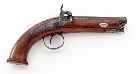 ''E Baker & Son'' English Holster Pistol
