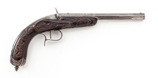 Belgian Flobert Rimfire Single Shot Target Pistol