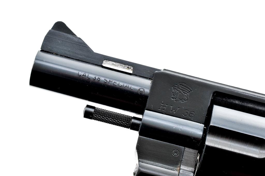 Lot: Arminius Model HW 38 Double Action Revolver | Proxibid Auctions