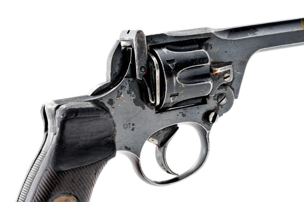 Lot: British Enfield No 2 Mk 1*Double Action Revolver