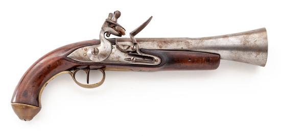 Flintlock Blunderbuss Pistol of European Origin