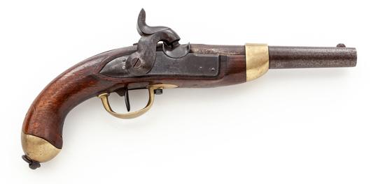 Swiss M.1842 Military Perc. Pistol, by Francotte