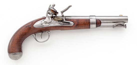 U.S. M.1836 Military Pistol, by Asa Waters