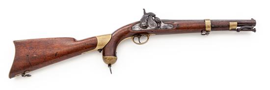 Model 1855 Perc. Pistol-Carbine, w/shoulder stock