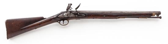 British Single Shot Flintlock Cavalry Carbine