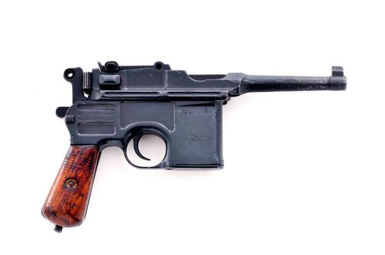 Mauser C96 Bolo Broomhandle Semi-Auto Pistol