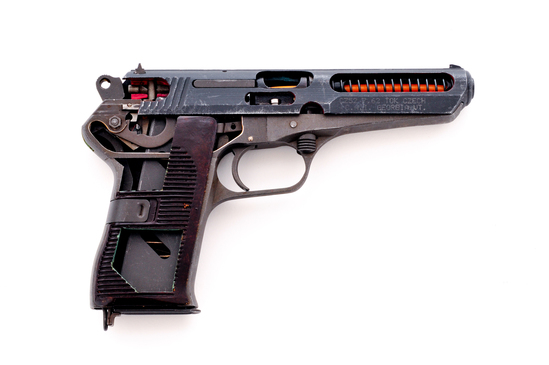 Factory Cutaway CZ Model 52 Semi-Automatic Pistol