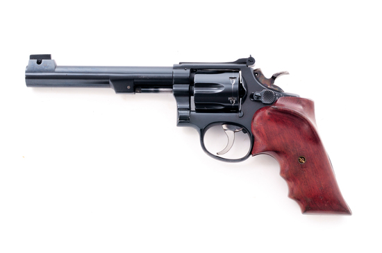 Modified S&W Target Revolver