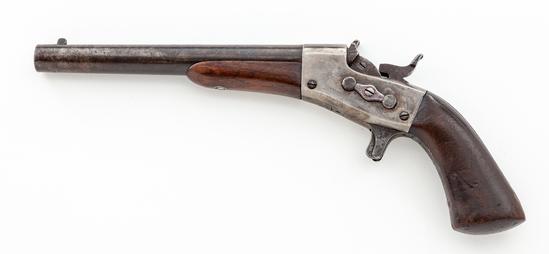 Remington Model 1865 Martially marked Navy Rolling Block Pistol