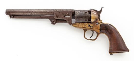 Confederate Griswold & Gunnison Perc. Navy Revolver