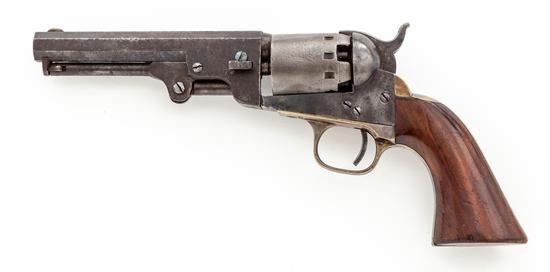 Civil War Manhattan Ser. III Navy Perc. Revolver