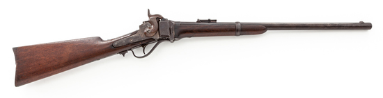 Early Sharps New Model 1859 Straight Breech Carbine