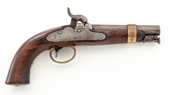 USN marked Model 1842 Navy Perc. Pistol