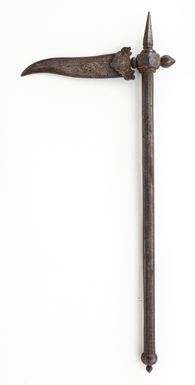 Antique Iron Indian Zagnal War Axe