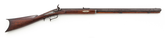 Antique Perc. Plains Rifle, by P. Reinhard