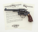 English Proofed S&W 2nd Model Hand Ejector Revolver
