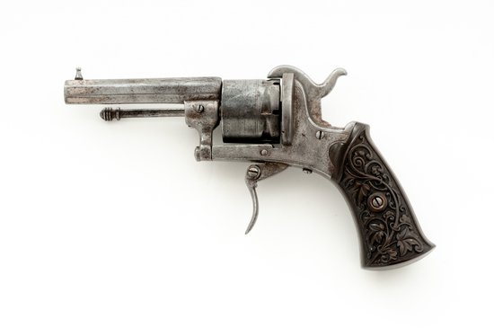 Small Frame European Pinfire Pocket Revolver