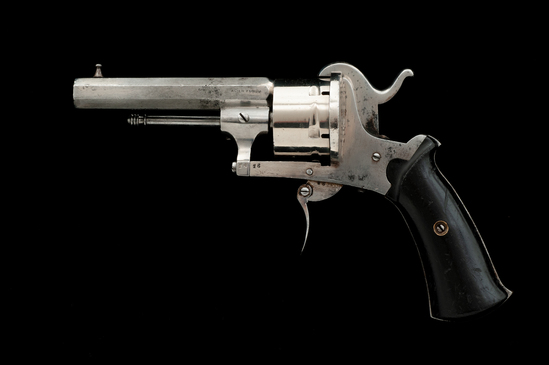 European Double Action Pinfire Revolver