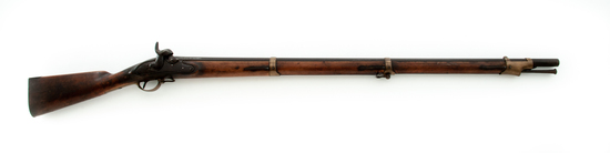 3-Band Fullstock Percussion Infantry Musket