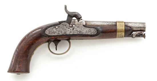 U.S. Ames Model 1842 Navy Boxlock Perc. Pistol
