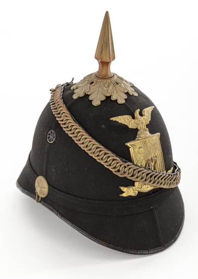 1881 Pat. U.S. 47th NY Infantry Spiked Helmet