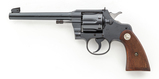 Colt Official Police Target Double Action Revolver