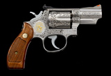 Angelo Bee Engraved S&W Model 66-1 Revolver