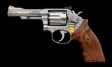 Angelo Bee Engraved/Gold Inlaid S&W Model 67 Revolver