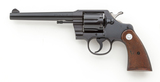 Colt Post-War Official Police Double Action Revolver