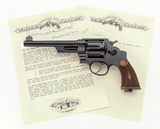 S&W First Model Hand Ejector Triplelock Revolver