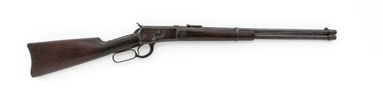 Antique Winchester Model 1892 Lever Action Saddle Ring Carbine