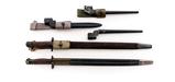 Lot of 5 British Bayonets
