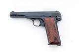 Nazi Proofed FN Model 1922 Semi-Auto Pistol