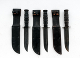 Lot of 3 Post-WWII Camillus Knives