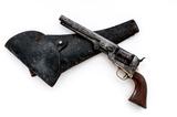 Civil War Colt Model 1851 Navy Perc. Revolver