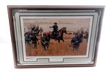 Ltd. Edition Print, entitled ''Custer at Hanover''