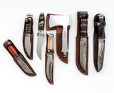 Lot of 6 Vintage Hunting Knives