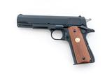 Colt Gov't Model MK IV Ser. 70 Semi-Auto Pistol