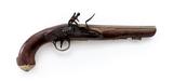 Antique English Flintlock Holster Pistol, by Ketland