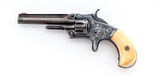 Antique Engraved S&W No. 1 3rd Issue Revolver