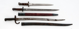 Lot of Three (3) Foreign Bayonets