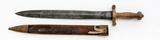 French Model 1831 Artillery Short Sword