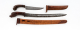 Lot of 2 Antique Indonesian Edged Weapons