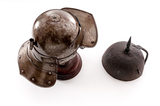 Lot of Two (2) Reproduction Helmets