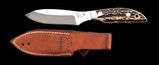 Custom Fixed Blade Knife, by Glenn Hornby