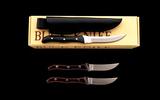 Lot of Three (3) Buck Fixed Blade Knives