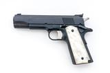 Colt MK IV Series 80 Gold Cup Nat'l Match Pistol