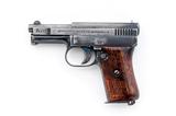 Mauser Model 1910 Semi-Automatic Pistol