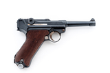 P.08 Luger, by Mauser (S/42)